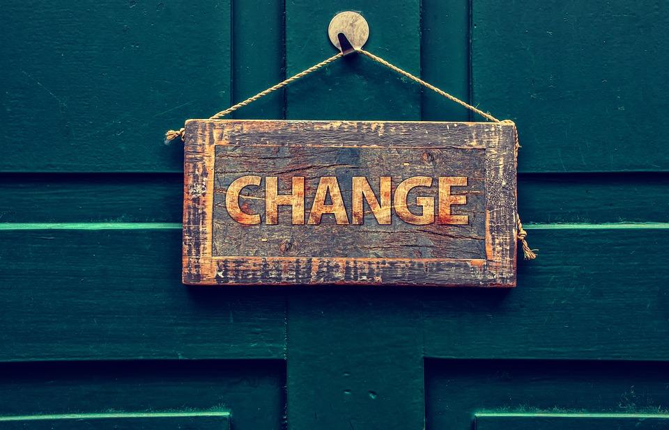 dvere, change, zmena