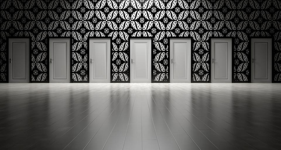 dvere, výber