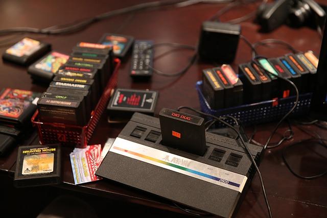 kazetky na hry